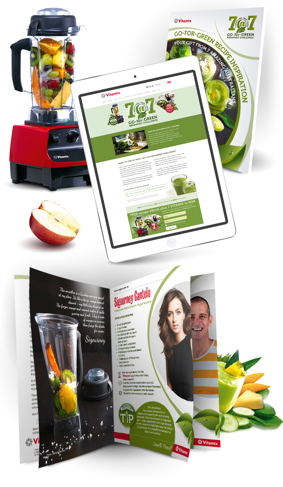 Vitamix 7at7 Campaign