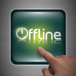 &quot;Offline&quot; - webcast branding